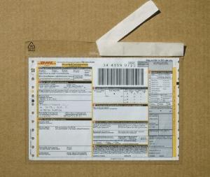 Пакет для сопроводительных документов СД Евро, пакет СД 110х240мм