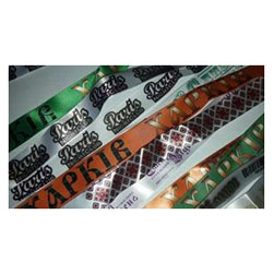 Тканевый браслет сатин, ширина 15 мм