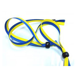 Тканевый браслет WOVEN-15-braid, ширина 1,5 см, двуколор флаг Украины