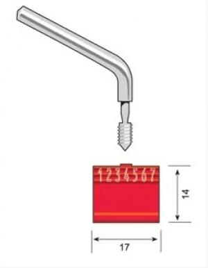 ЗПУ Метер Вэлв, трос длиной 1000 мм