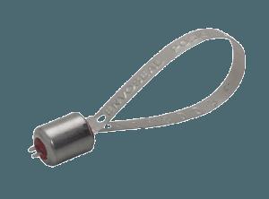 Металлическая пломба Позичек, ленточного типа, аналог пломбы Банджо и Фликлок