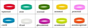 Силиконовые браслеты для детей упаковка 100шт.